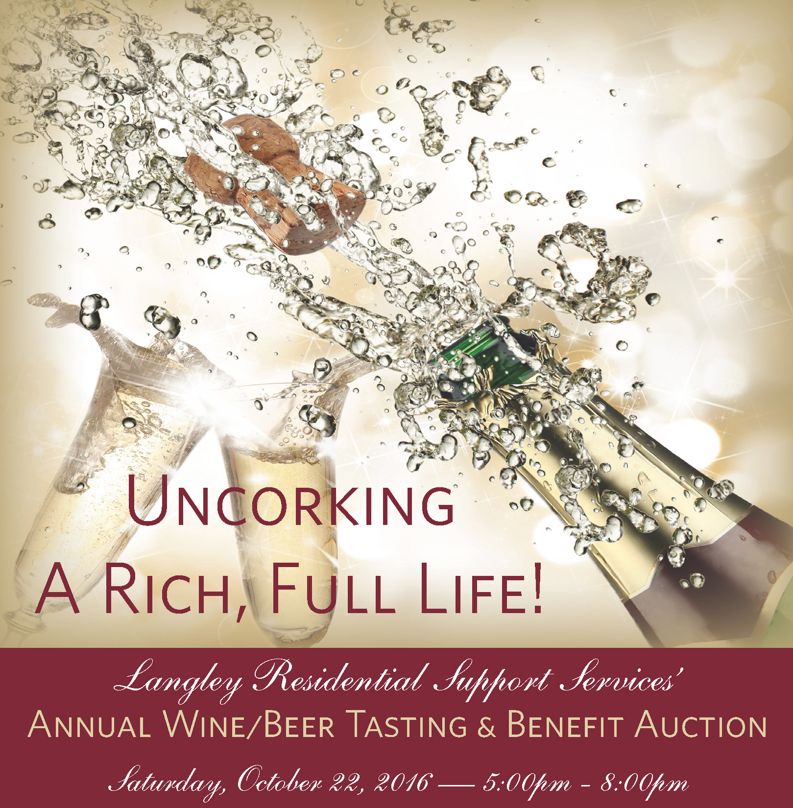 Annual Wine/Beer Tasting & Benefit Auction
